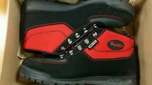 Red Vasque Skywalk, Low Men's Hiking Gortex Leather Boots *NEW IN BOX* Size 9