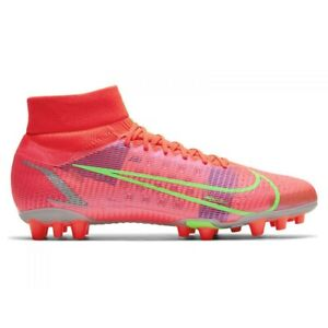 Nike Superfly 8 Pro Ag M CV1130-600 football shoes red coral