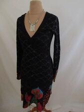 Ebay Femme Robes Desigual Noirs Pour qvwnxR4g