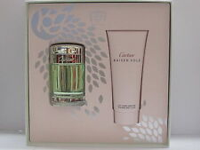 Cartier Baiser Vole Women Perfume Set 1.6 oz Edt Spray + 3.3 oz Body Lotion