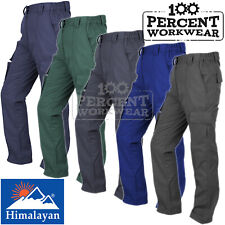 Ladies Womens High Quality Hard Wearing Combat Work Trousers Pants Knee Pockets