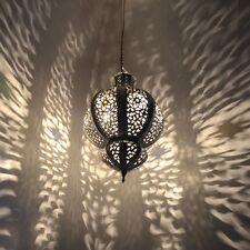 Marokkanische Lampe Orientalische Hängelampe Arabische Hängelampe KHK-S H45cm