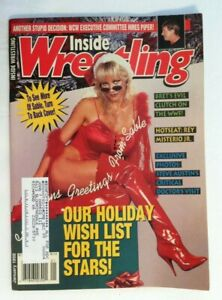 1998 9 Issues Inside Wrestling Magazine Used All In Good Condition
