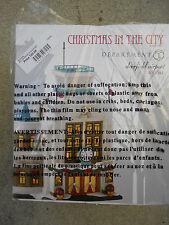 DEPT 56 CHRISTMAS IN THE CITY DEERFIELD AIRPORT NIB *Read*