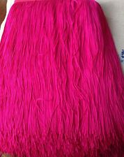 "Tassel Fringe Trim 30 cm 12"" Drop costume furniture Assorted Colours 1 yard"