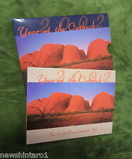 2002  AUSTRALIAN MINT SET OF COINS, YEAR OF THE OUTBACK