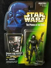 Star Wars Power of the Force POTF Imperial Death Star Gunner Green Card 31