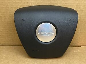 Yukon Sierra Denali Front Left Driver Side Steering Wheel Air Bag Airbag Black