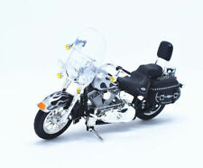 Maisto Modèle Réduit de Moto Harley Davidson 2002 FLSTC Heritage Softail 1/18