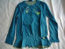 Winter 2013 - WI 13/14 paglie camisa túnica, Azul O VERDE TALLA gr.104-140
