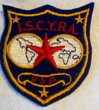 Vintage i.s.c.y.r.a. International Star Class Yacht Racing Association Patch