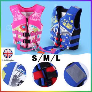Kids Swim Life Jacket Float Vest Swimming Pool Buoyancy Aid Child WaterSport UK