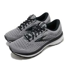 Brooks Ghost 13 2E Wide Grey Black Men Road Running Shoes Sneakers 110348 2E