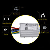 DC 24V/250W Electric Motor Speed Brushless Controller For Bicycle E-Bike Scooter