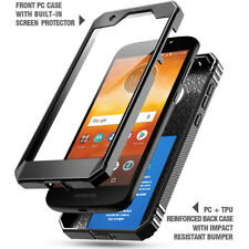 "For Motorola Moto E5 Play Case Poetic ""Shockproof"" TPU Cover-【Revolution】Black"