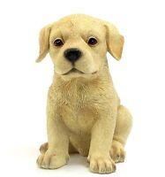 Leonardo Puppy Love Golden Labrador / Pug / Yorkie Resin Ornament