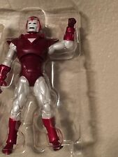 marvel universe iron man Silver Centurion only from 2 pack rare new
