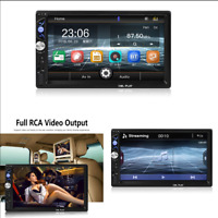 2 Din 7 inch Car Stereo Radio HD Touch Screen MP5 Player Bluetooth FM/TF/USB/AUX