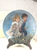 Vintage Mother Goose series (8) Eighth Issue 'Jack and Jill' Plate, NIB