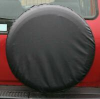 """SUV 4X4 Rear Spare Wheel Tyre Cover Fits 16"""" & 17"""" Inch fits Vauxhall FRONTERA"""