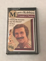 Marty Robbins Country Classics Cassette Tape BT 16914