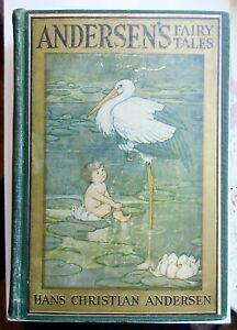 ANDERSEN'S FAIRY TALES Hans Christian Illustrated Early 1900s