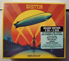 Led Zeppelin Deluxe Edition 2CD+2DVD New Celebration Day Legendary 2007 Concert