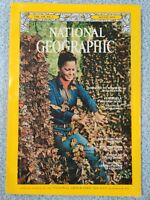 Vintage National Geographic Magazine - August 1976 - MONARCHS MEXICAN HAVEN