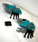 Lot of (2) The TRANSFORMERS G1 SEACONS NAUTILATOR Action FIGURES Great Condition