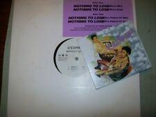 S'Express          PROMO VINYL / CD LOT            Nothing to Lose