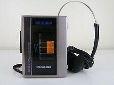 VINTAGE Panasonic Cassette Recorder RQ-320 SLE AUTO STOP buono come VINTAGE Prop