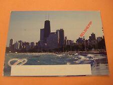 Chicargo, Illinois, USA, Postcard (100 Storey John Hancock Centre)