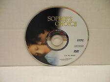 Sophie's Choice DVD Movie NO CASE Meryl Streep Kevin Kline