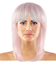 Pastel Pink Jem Cosplay Party Costume Wig HW-1550