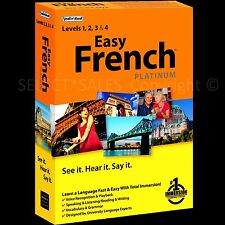 LEARN TO SPEAK FRENCH language PLATINUM Listen to MP3 files In the Car +DVD-ROM