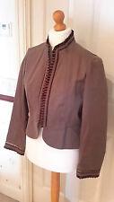 Designer Gharani Strok Jacket Size 14