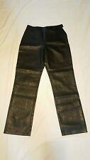 Styleworks Women's Size 8 Pants Polyurethane 100% Taffeta Lining NWOT Fo Leather