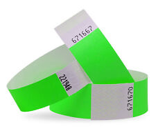Custom Printed Tyvek Wristbands 19 or 25mm. Supplied Plain or Personalised