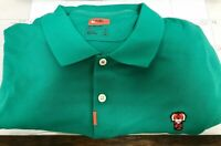NWT Tiger Woods TW Frank THE NIKE Polo Shirt Mens SZ 3XL Neptune Green MASTERS