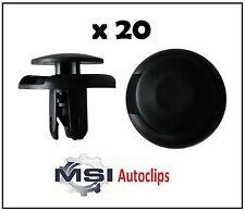 20 x Plastic Mitsubishi Grille Wheel Arch Lining Splashguard & Bumper Trim Clips
