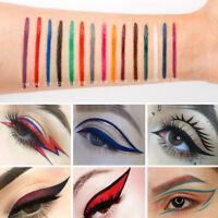Colors Matte Liquid Eyeliner Waterproof Eye Liner Pen Lasting Cosmetic Acces