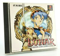 Lunar Silver Star Story - Sony Playstation PS1 JAP Japan complet