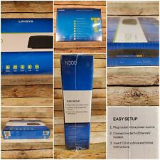 Linksys E1200 N300 Mbps 4-Port 10/100 Wireless Router(NEW/SEALED)