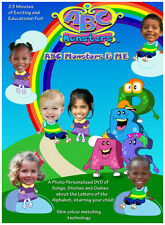 ABC Monsters & Me Personalised DVD's starring YOUR CHILD - COMPLETE 26 EPISODE
