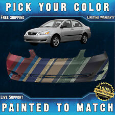 Painted to Match - Front Bumper Cover Replacement For 2005-2008 Toyota Corolla