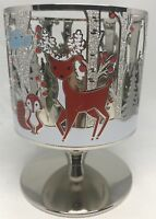 BATH & BODY WORKS WINTER CRITTERS PEDESTAL LARGE 3-WICK 14.5 OZ CANDLE HOLDER