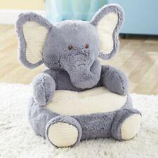 Kid's Stuffed Plush Animal Chair - Reading Chair - Elephant