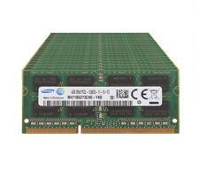 10pcs Samsung 4GB DDR3L 1600MHz PC3L-12800 204PIN SODIMM Laptop RAM 1.35V Memory