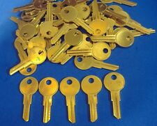 LOT OF FIFTY LOCKSMITH Y11 KEY BLANKS FITS YALE SOLID BRASS MADE IN USA