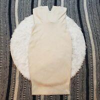NWT Charlotte Russe Women's Notched Glitter Bodycon Dress Size Medium M